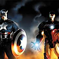 Iron Man with <b>Captain</b> <b>America</b>