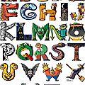 Monstrueux alphabets