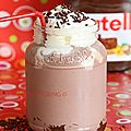 <b>Milk</b>-shake Nutella®-fraises