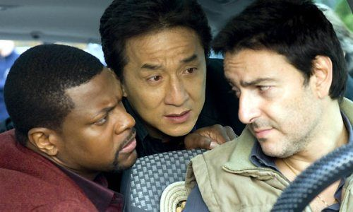 Chris Tucker, Jackie Chan et Yvan Attal