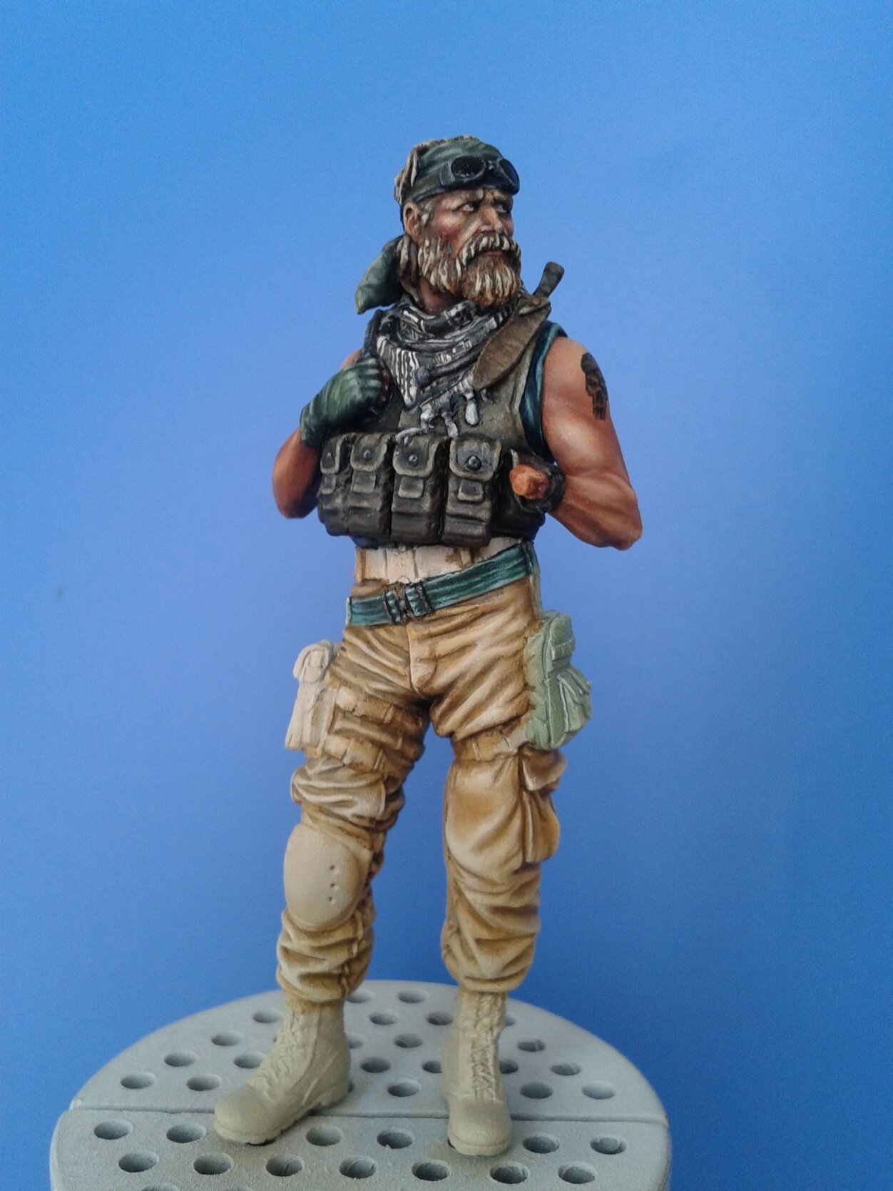 Green Beret-knight models TERMINE 104686510_o