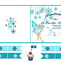 LA <b>FEE</b> DES NEIGES..... mini theme