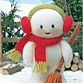 Traduction Bonhomme de <b>neige</b> - Snowman Jean Greenhowe