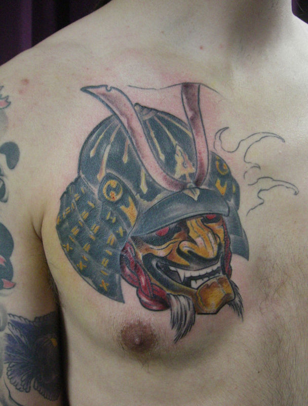 masque guerrier samouraï - tattoospiritprod