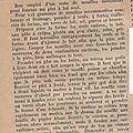 Les <b>recettes</b> de Croquette # 19