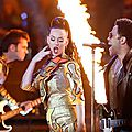 Les looks de Katy Perry lors du Super Bowl 2015!