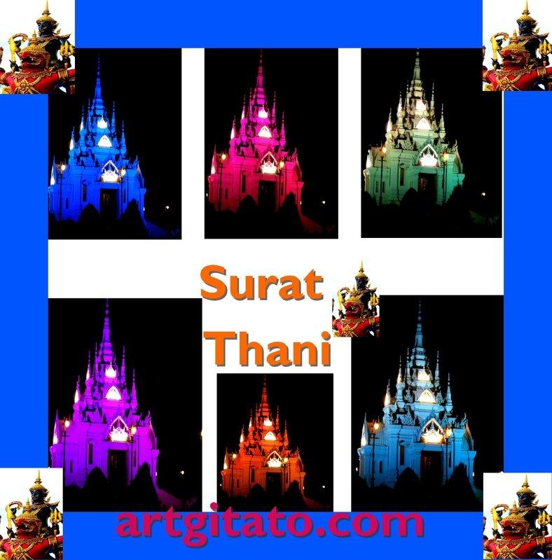 Surat Thani Thailande Artgitato 1