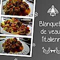 Blanquette de veau à l'<b>italienne</b>