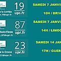 Prochaines réunions UPR en Limousin
