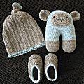 Cadeau de naissance au <b>crochet</b>