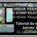 Sneak Peek Stamp <b>Enjoy</b>