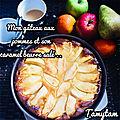 ...🍏 Gâteau pommes <b>Caramel</b> <b>beurre</b> <b>salé</b> maison Pour le Goûter 🍏🍎