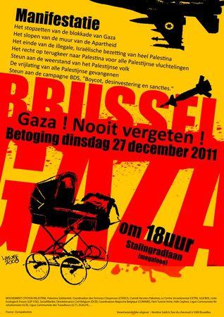 affiche gaza nld