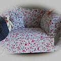 Le canapé des poupées !