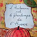 Page : Automne
