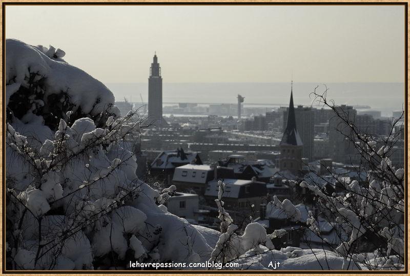 Le Havre sous la neige 49618592