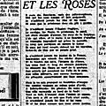 Les lilas et les roses (suite)