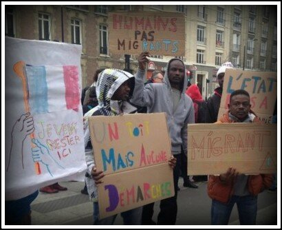 Migrants Le Havre