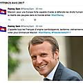 Différence de perspective de France ou du Cambodge