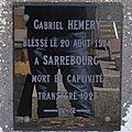 HEMERY Emile Gabriel (Pommiers) + 19/09/1914 Grafenwohr (<b>Allemagne</b>)