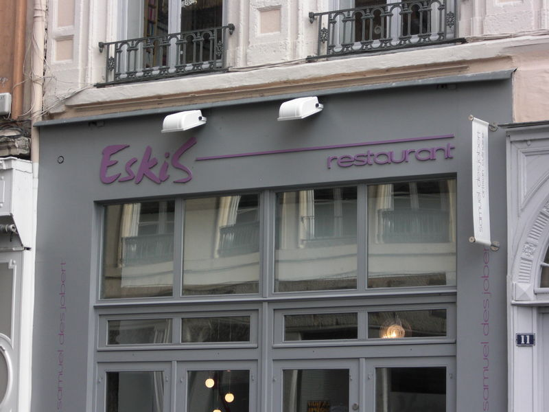 eskis restaurant lyon exp rience de cuisine mol culaire foodista en ville. Black Bedroom Furniture Sets. Home Design Ideas