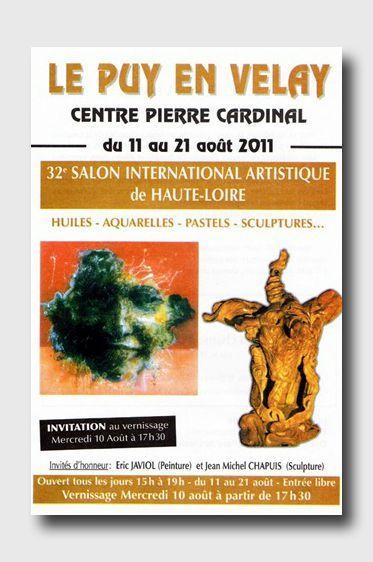Affiche Puy en Velay 2011
