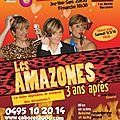 Les amazones , 3 ans après de JM Chevret par Cabaret 2000