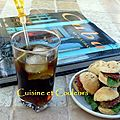 <b>Cocktail</b> Cuba libre & ses mini-hamburgers