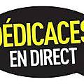 LIVE séance de <b>dédicaces</b>