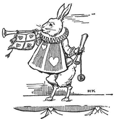 020_hare_rabbit_playing_trumpet_hearts_proclamation_public_domain