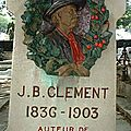 Jean-Baptiste Clément : Le <b>temps</b> des <b>cerises</b> ! La semaine sanglante! la Commune de Paris (de mars à mai 1871)