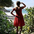 Une <b>robe</b> Seda pour le retour et le voyage de noces
