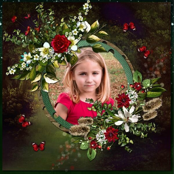 Ida Passion template 4 pack 6 - kit de Stepfairy Ruby Fairies Photo Nounou