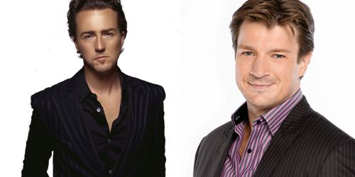 Edward Norton et Nathan Fillion