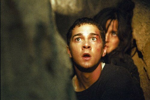 SHIA LaBEOUF & CARRIE-ANNE MOSS