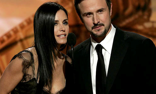 Courteney Cox et David Arquette