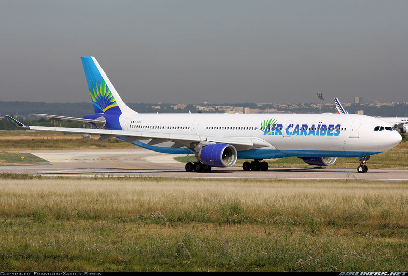 enregistrement air caraibes