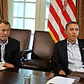 Etats-Unis: Congrès , Plus que cinq jours avant la « Falaise Fiscale »