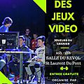 Salon des <b>Jeux</b> <b>Vidéo</b> organisé par le SAVOIE RETRO GAMES