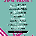 13 à table! -Collectif d'auteurs Français/Les Restos du <b>Coeur</b>.