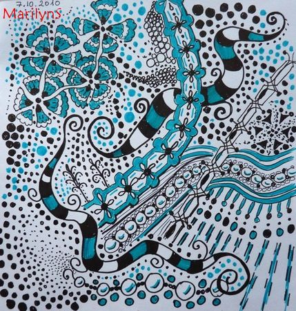 Zentangle_005_turquoise