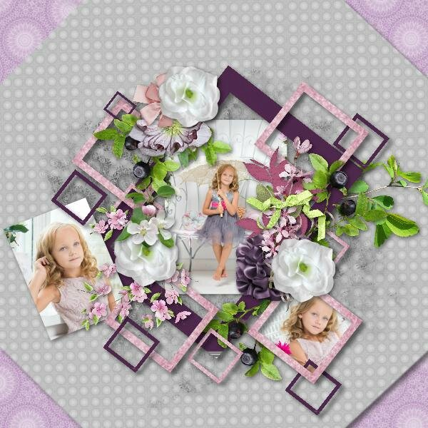Talou template 14-2 - kit Desclics Sweet summer - photo Pixabay