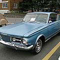 Valiant <b>Barracuda</b> hardtop coupe - 1965