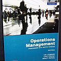 <b>Operations</b> Management Processes and suplly chains - Lee J. Krajewski, Larry P. Ritzman, Manoj K. Malhotra