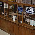 Le bureau de <b>poste</b> au Musée de l'Ancienne Malterie de Champagne