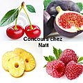 Clture Concours chez Natt - Un colis Fruit 0 Food  gagner