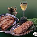 Le savoureux cou de <b>canard</b> farci au foie gras