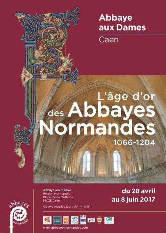 1066 – 1204: L'AGE D'OR DES ABBAYES NORMANDES, une exposition à ne pas manquer!