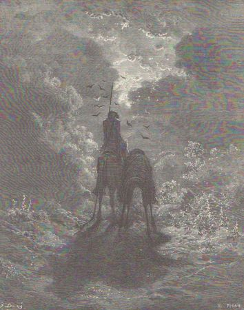 Cervantes Quichotte par G Doré4