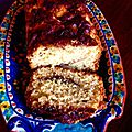 Cake aux pommes et à la <b>cannelle</b> à l'ancienne